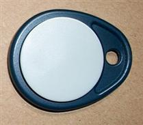 JTRFID010 RFID双频钥匙扣13.56MHZ高频(ISO15693协议ICODE2芯片+125KHZ低频TK4100芯片)RFID复合卡RFID双频卡