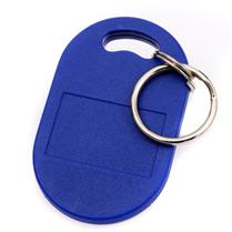 JTRFID005 RFID双频钥匙扣13.56MHZ高频(ISO14443A协议MIFARE1S50芯片+ISO15693协议ICODE2芯片)复合卡RFID双频异形卡