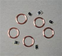 JTRFID22007 125KHZ低频TK4100/ME4100芯片ID芯片焊接线圈ID裸标签