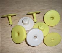 JTRFID3117 NTAG215芯片504BIT存储大容量NFC猪耳标13.56MHZ高频ISO14443A协议NFC动物耳标