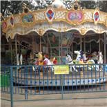 旋转木马-松湖生态园游乐场
