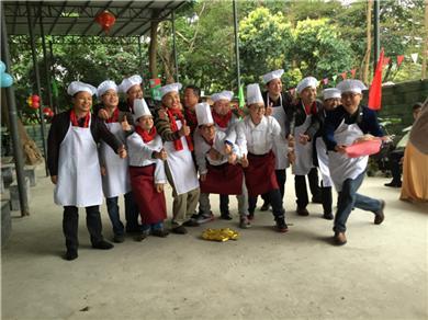 中华商务公司团队建设活动在松山湖农家乐野炊一天游