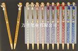 萬里制筆廠專業生產可印刷LOGO圓珠筆 可定色金屬筆 質優廣告禮品筆