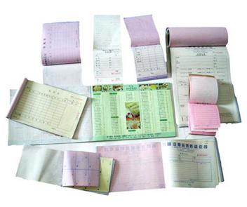 无碳纸收据
