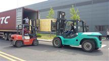 集装箱设备掏箱装卸车