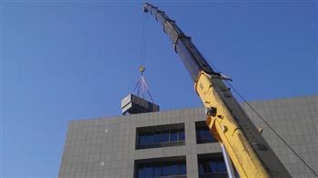 大件设备高空吊装就位