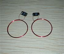 JTRFID 23MM直径TI2048芯片焊接线圈2KBIT存储13.56MHZ高频ISO15693协议RFID裸标签