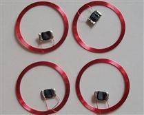 JTRFID 30MM直径MIFARE1S50芯片焊接线圈13.56MHZ高频ISO14443A协议M1电子标签天线焊接芯片IC裸标签