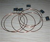 JTRFID 35MM直径NTAG215芯片504BIT存储13.56MHZ高频ISO14443A协议NFC标签专用芯片线圈NFC裸标签