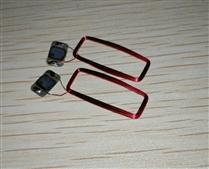 JTRFID 22*9MM MIFARE1S50芯片焊接线圈13.56MHZ高频ISO14443A协议M1电子标签天线焊接芯片IC裸标签
