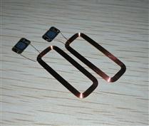 JTRFID 28*11MM TI2048芯片焊接线圈2KBIT存储13.56MHZ高频ISO15693协议RFID裸标签