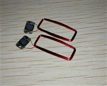JTRFID 22*9MM Ultralight芯片13.56MHZ高频ISO14443A协议NFC标签专用芯片线圈NFC裸标签