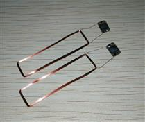 JTRFID 40*11MM TI2048芯片焊接线圈2KBIT存储13.56MHZ高频ISO15693协议RFID裸标签