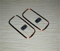 JTRFID 36*17MM MIFARE1S50芯片焊接线圈13.56MHZ高频ISO14443A协议M1电子标签天线焊接芯片IC裸标签