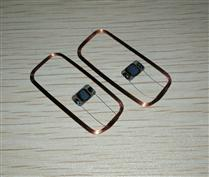 JTRFID 36*17MM I.CODE2芯片焊接线圈1024BIT存储RFID标签芯片13.56MHZ高频ISO15693协议RFID裸标签