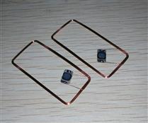 JTRFID 44*20MM TI2048芯片焊接线圈2KBIT存储13.56MHZ高频ISO15693协议RFID裸标签