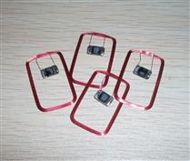 JTRFID 30*20MM Mifare1S70芯片IC裸标签32Kbit大容量IC卡芯片焊接线圈
