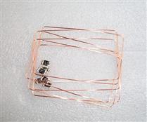 JTRFID 76*48MM MIFARE1S50芯片焊接线圈13.56MHZ高频ISO14443A协议M1电子标签天线焊接芯片IC裸标签