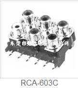 RCA同芯插座RCA-603C