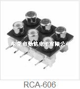 RCA同芯插座RCA-606