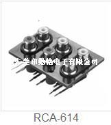 RCA同芯插座RCA-614