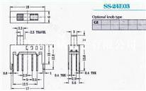 供应拨动开关SS-24E03G2、G3、G4