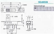 供应拨动开关SS-24E04G2、G3、G4