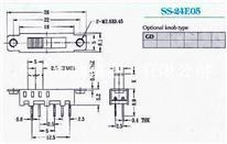 供应拨动开关SS-24E05G2、G3、G4