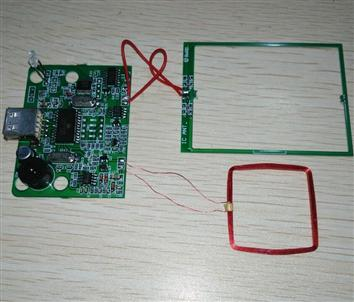 JT500UKM IC+ID双频读卡模块(13.56MHZ高频ISO14443A+125KHZ低频ID读卡模块)IC+ID复合开发板