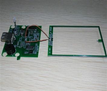 JT500FM 分体式读卡模块ISO14443A协议IC读卡模块13.56MHZ高频开发板