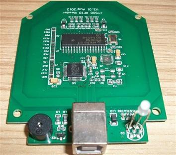 JT500XM ISO14443A協議IC讀寫模塊13.56MHZ高頻開發板