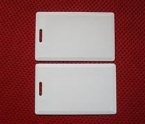 UHF厚卡ISO18000-6C电子标签卡915MHZ超高频吊牌卡Gen2白卡