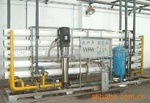 Spraying with RO of deionized water machine