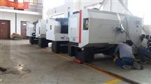 通州区机床设备搬运运输、数控机床、加工中心卸车搬运定位