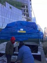建筑工地供暖配套设备吊装搬运找重力诚成搬运公司