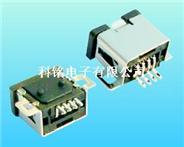 供应USB-113       USB母座迷你4P贴片