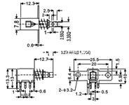 按键开关  PS-22F06