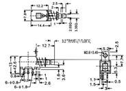 按键开关  PS-22F09