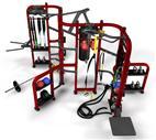 SK-247B 室内健身器材 360综合训练器 墨西哥健身器材