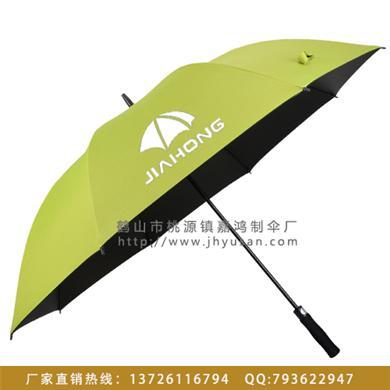 【东莞雨伞厂】订做银行高尔夫广告伞  雨伞制造厂 雨伞制作