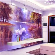家庭墙绘壁画