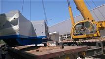 北京精密大型設備裝車卸車搬運運輸/收費合理
