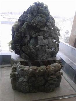 北京泰山石吊装观赏石搬运玉石就位