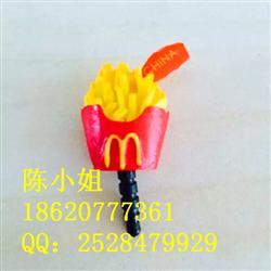 M記樹脂薯條防塵塞 防塵堵 樹脂小配件