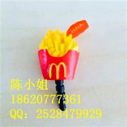 M记树脂薯条防尘塞 防尘堵 树脂小配件