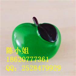可爱创意树脂磁性冰箱贴 胸针 树脂 仿真树脂水果绿苹果