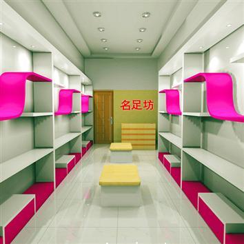 鞋店货架G1