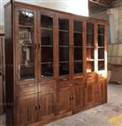 黑胡桃实木书柜定制木蜡油水性漆清漆黑胡桃实木家具