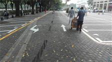 停车场交通划线