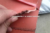 紅色硅鈦布|加厚硅膠防火布